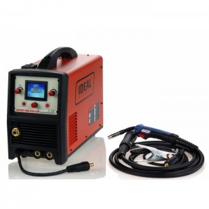 IDEAL EXPERT MIG 215 LCD SYNERGIC ALU
